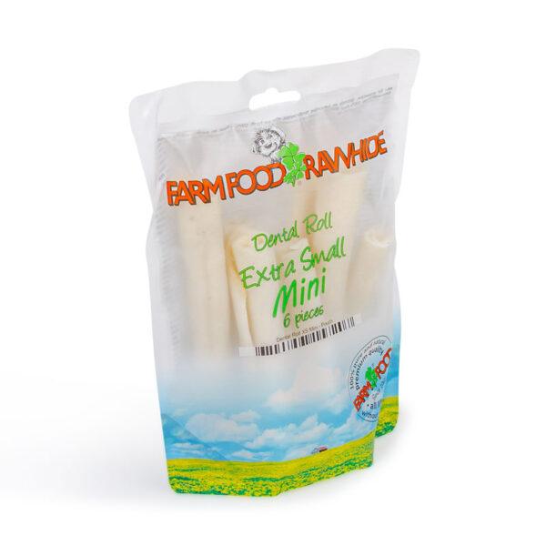 Farm Food Rawhide Dental Roll XS Mini (6 st)
